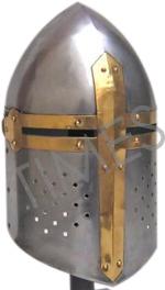 Medieval Sugarloaf Armour Helmet