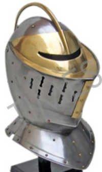 Medieval Europian Knight  Armour Helmet