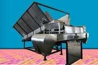 Compost Bag Filler with SS Filling Hopper