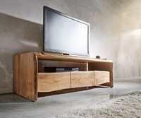 Wooden Live Edge TV Cabinet