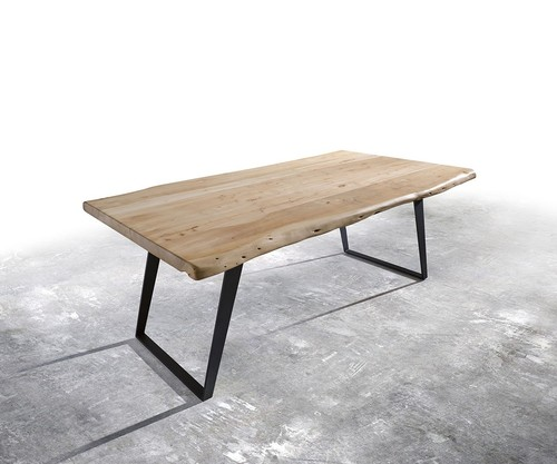 Industrial Live Edge Dining Table