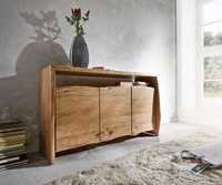 Live Edge Sideboard with 3 doors