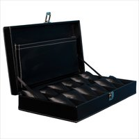 Fico Black Watch Box for 12 watches