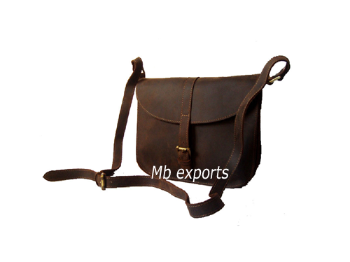 brown messenger bags
