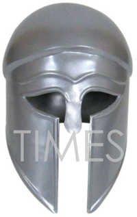 Medieval Greek Corinthian Silver  Armour Helmet