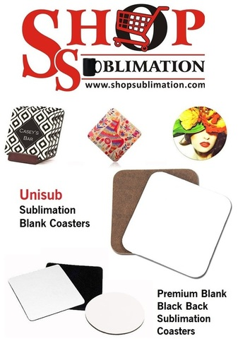 Sublimation MDF Wooden Coasters
