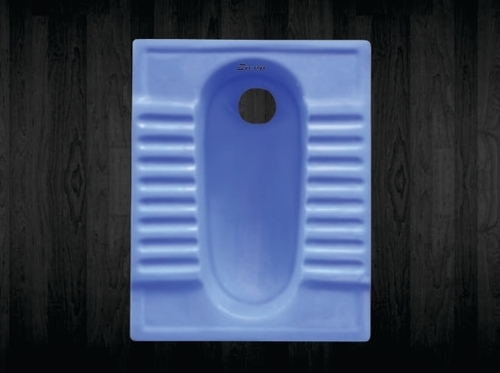 Blue Color Ceramic Orissa Pan