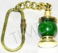 Green Lamp Keyring