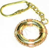Ship Tube Mirror Keyring