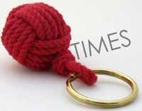 Monkey Fist Rope keychain