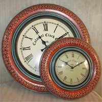 Designer Wooden Wall Hanging Clock