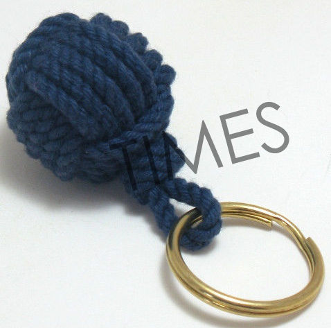 Monkey Fist Rope keychain