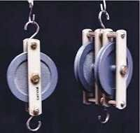 PULLEYS, PLASTIC,DELUXE