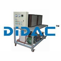 Commercial Refrigeration Unit With Fault Simulation