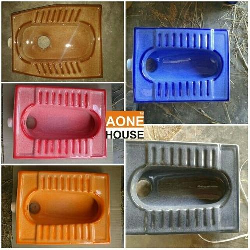Rustic Color Squatting pan