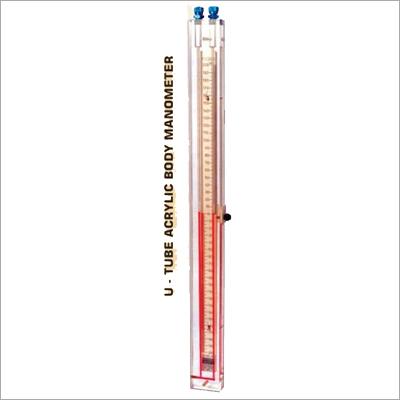 Acrylic Body U Tube Manometer