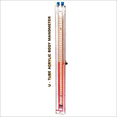 Acrylic Body U Tube Manometer