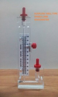 Single Limb Acrylic Body Manometer