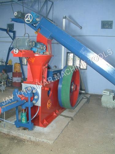sawdust press machine