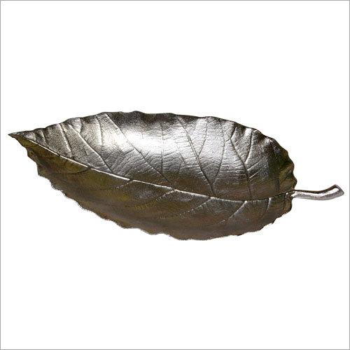 Alumuniume Leaf Tray With Nickel Finished