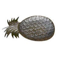 Pineapple Alumuniume Dish With Nickel Finished