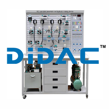 PLC Controlled Pneumatic And Hydraulic Training Device