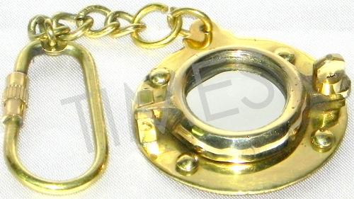 Porthole Keychain