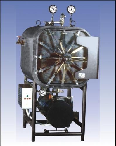 Horizontal Laboratory Autoclave