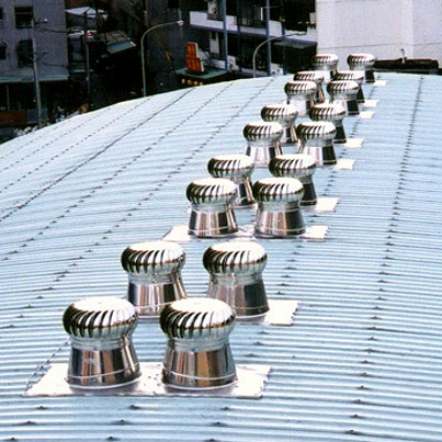 Wind Driven Turbine Ventilators