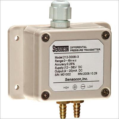 Weatherproof Differential Pressure Transmitter