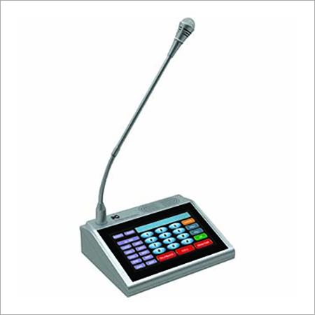 IP Network & Intercom Paging Microphone