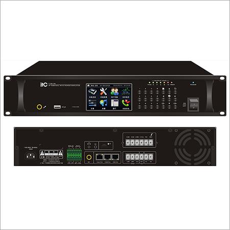 IP Network Audio Class-D Amplifier