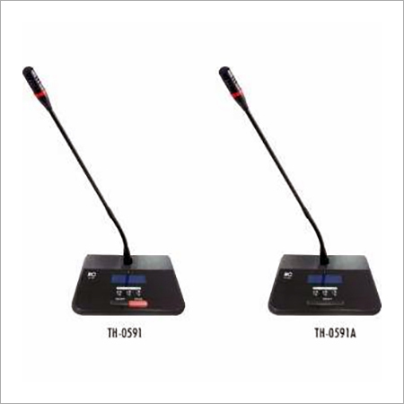 UHF Wireless Conference System Chairman Delegate Unit