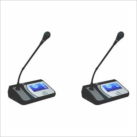Chairman Delegate Unit With IC Card Of Digital Conference System