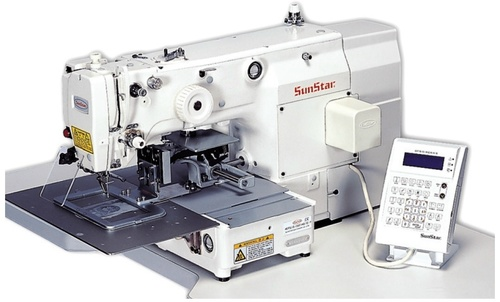 Electronically Controlled, Pattern Sewing Machine