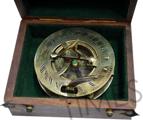 Nautical Compass with Case