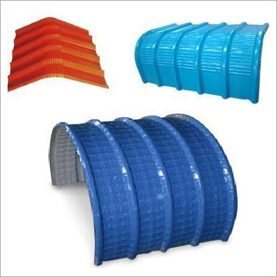 Curved Crimped Round Colour Coated Sheets