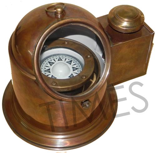 Helmet Lamp Compass