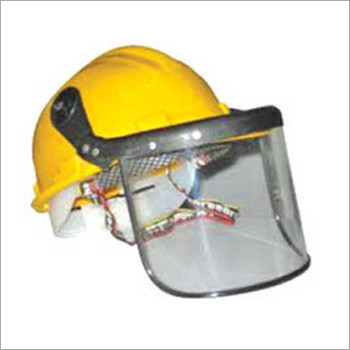 Face Shield with Helmet