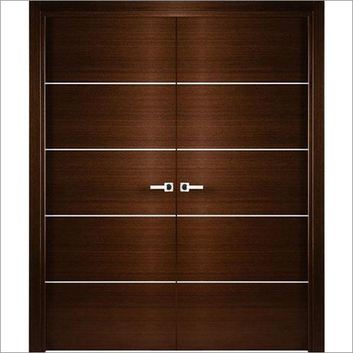 Double Acting Wooden Doors