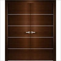 Double Acting Wooden Doors