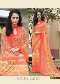 Digital Print Party Wear Saree