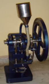 TABLET MACHINE HAND OPERATED (SINGLE PUNCH)