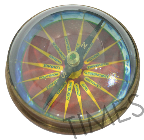 Nautical Lence Compass