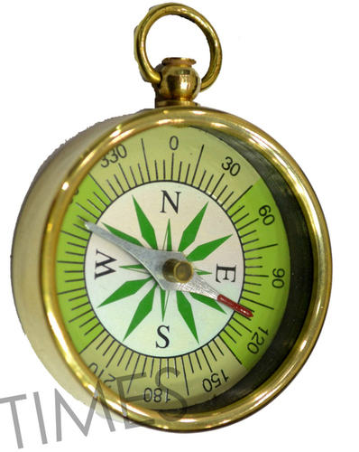 Nautical Shine Compass