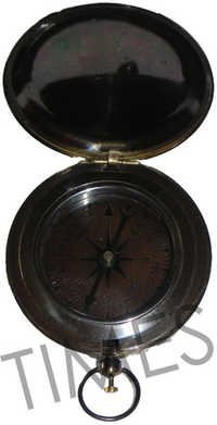 Antique Push Button Compass