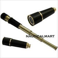 Brass Pirate Antique Telescope Replica Pirate Royal Navy Spyglass Pocket Telescope - 18inches Long