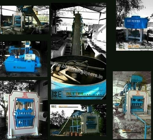 Automatic Fly Ash Brick Machine Plant