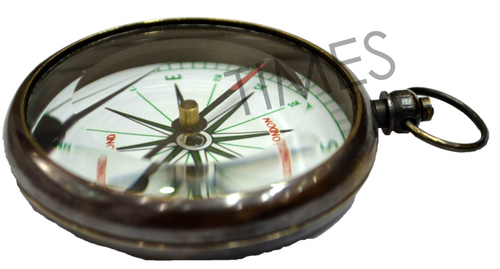 Antique Compass Locket