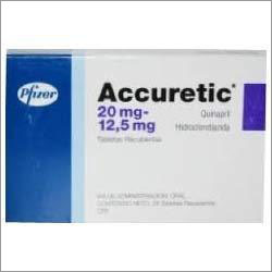Accuretic Hydrochlorothiazide Tablets